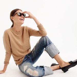 J. CREW 100% Cashmere Sweater XS